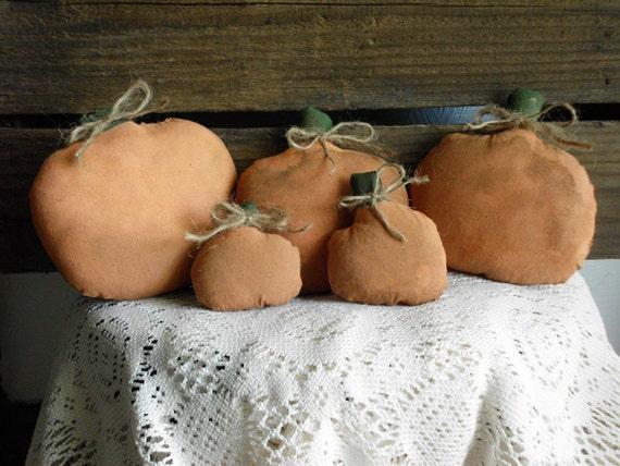 Primitive Decor Pumpkin Bowl Fillers
