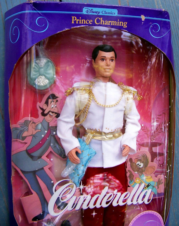 Nrfb Barbie Cinderella Prince Charming By Razzyssignsandrelics