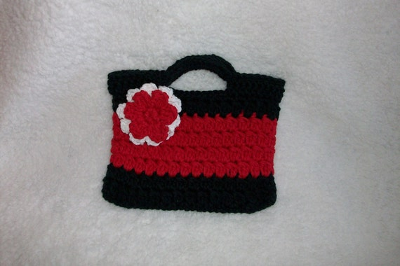 Crochet Purse for Little Girl by pinkney on Etsy