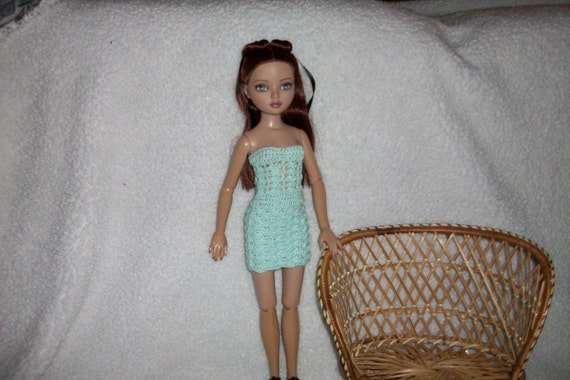 Summer Dress Set For Ellowyne Doll Crochet