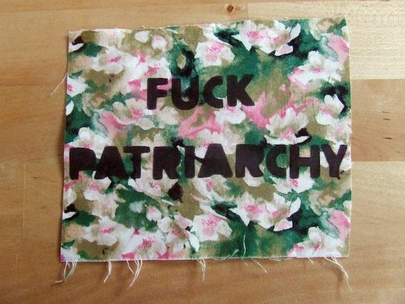 FUCK PATRIARCHY patch