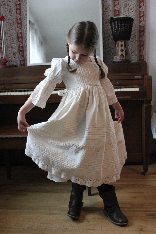 My Dear Guinevere Victorian Little Girls Princess Dress