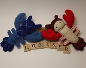 Lobster Plush Doll - Made to Order