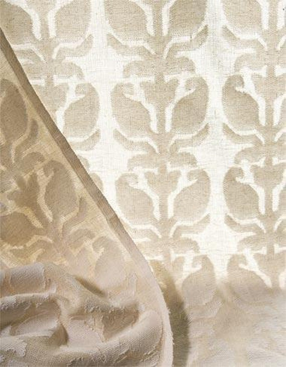 COTTON: semi-transparent cotton curtain in off white