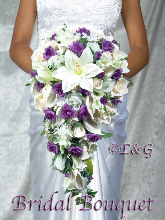 Items Similar To Complete Bridal Bouquet Package Beautiful