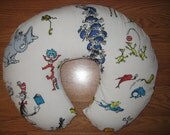 Nursing pillow cover - Dr. Seuss Cat in the Hat - fits Boppy