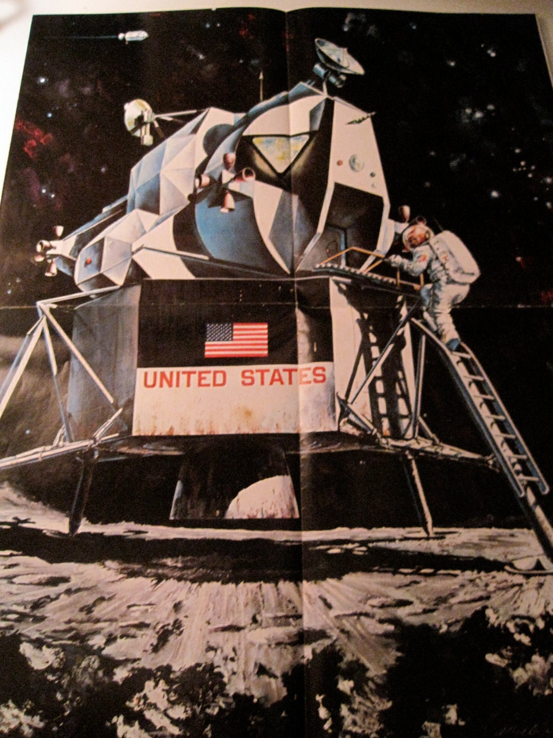 Vintage Nasa Poster - Pics about space