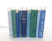 Front Page Featured-  Ocean Blue Books 9 Interior design Home Decor Photography Prop Cottage Home Style Beach House