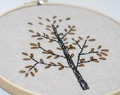 Nature Inspired Hoop Art Tree Wall Hanging Rustic Home Pottery Barn Cottage Style