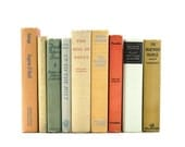 Pastel Vintage 9 Book Collection Interior Design Home Wedding Vintage Book Decor
