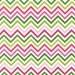 Remix Zig Zag Pink and Green Chevron Fabric, Robert Kaufman, 1 FQ