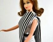 Mod Barbie Pantdress Retro Look Sixties Style Handmade