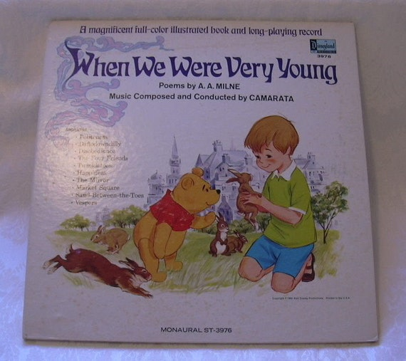 When We Were Young: Winnie The Pooh When We Were Very Young By TremendousTreasures