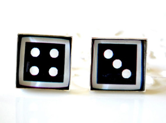 Lucky 7 Dice Cufflinks