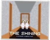 The Shining, Twins (16x20 Pixel Art Print)