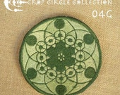 Sacred Geometry Crop Circle Patches - Crop Circle Collection (04G)