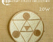 Sacred Geometry Crop Circle Patches - Crop Circle Collection (20W)