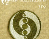 Crop Circle Collection - Handmade Sacred Geometry Embroidery Patch (31Y)
