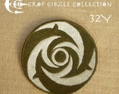 Sacred Geometry Crop Circle Patches - Crop Circle Collection (32Y)
