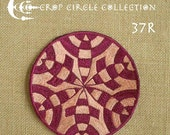 Sacred Geometry Crop Circle Patches - Crop Circle Collection (37R)