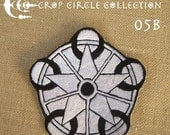 Sacred Geometry Crop Circle Patches - Crop Circle Collection (05B)