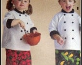 Toddlers chef  costume. 24M to 5T custom made with your favorite fabric.