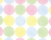 Moda Love U Cotton Fabric - Tic Tac Color Pastel by Deb Strain - 1 YARD