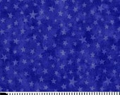 Moda Marble Star in Royal Blue - 1 Yard Cotton Fabric
