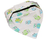 Cute Owls Dog Bandana - Sizes SMALL 12-14 Inches