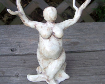 Tree Woman - Dryad - Sculptre - Made to Order