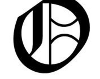 Letter O Old English Lettering Alphabet Vinyl Decal