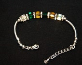 Green& Gold Bracelet