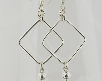 Turquoise Sterling Silver Earrings 27