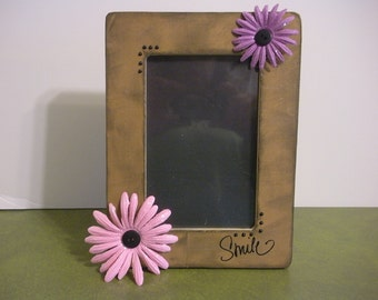 4 x 6 Smile Picture Frame / Ready To Ship