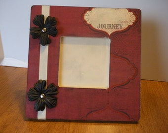 3.5 x 3.5 Picture Frame Journey/ Ready To Ship