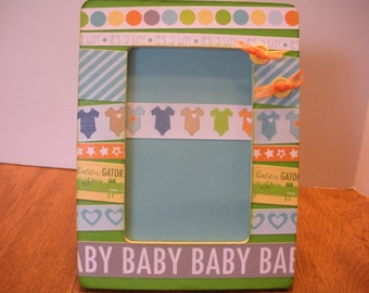 4 x 6 Baby Picture Frame/ Rady To Ship