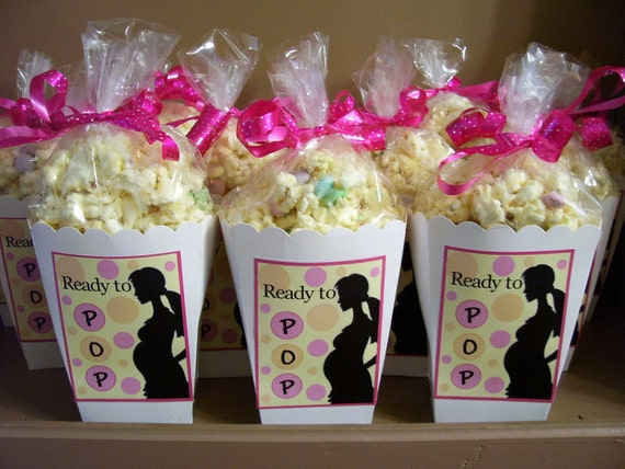 ready to pop baby shower about to pop baby shower favor