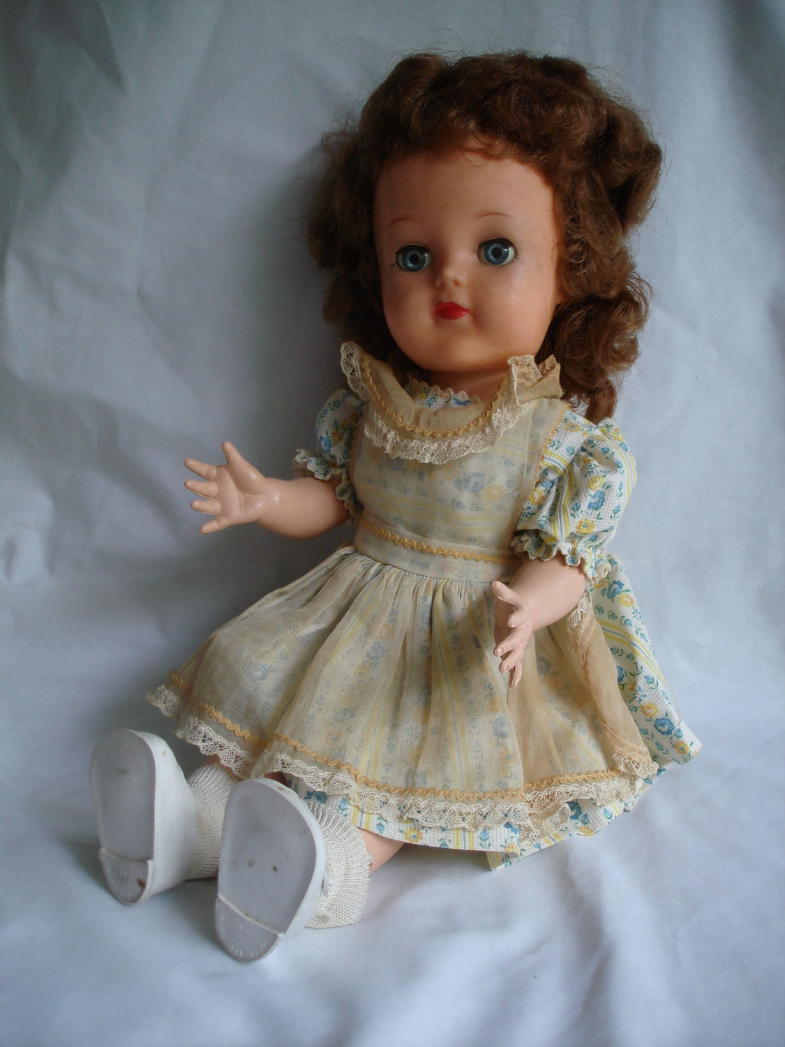 1950s Ideal Toy Posie Doll Eyes That Open Crier