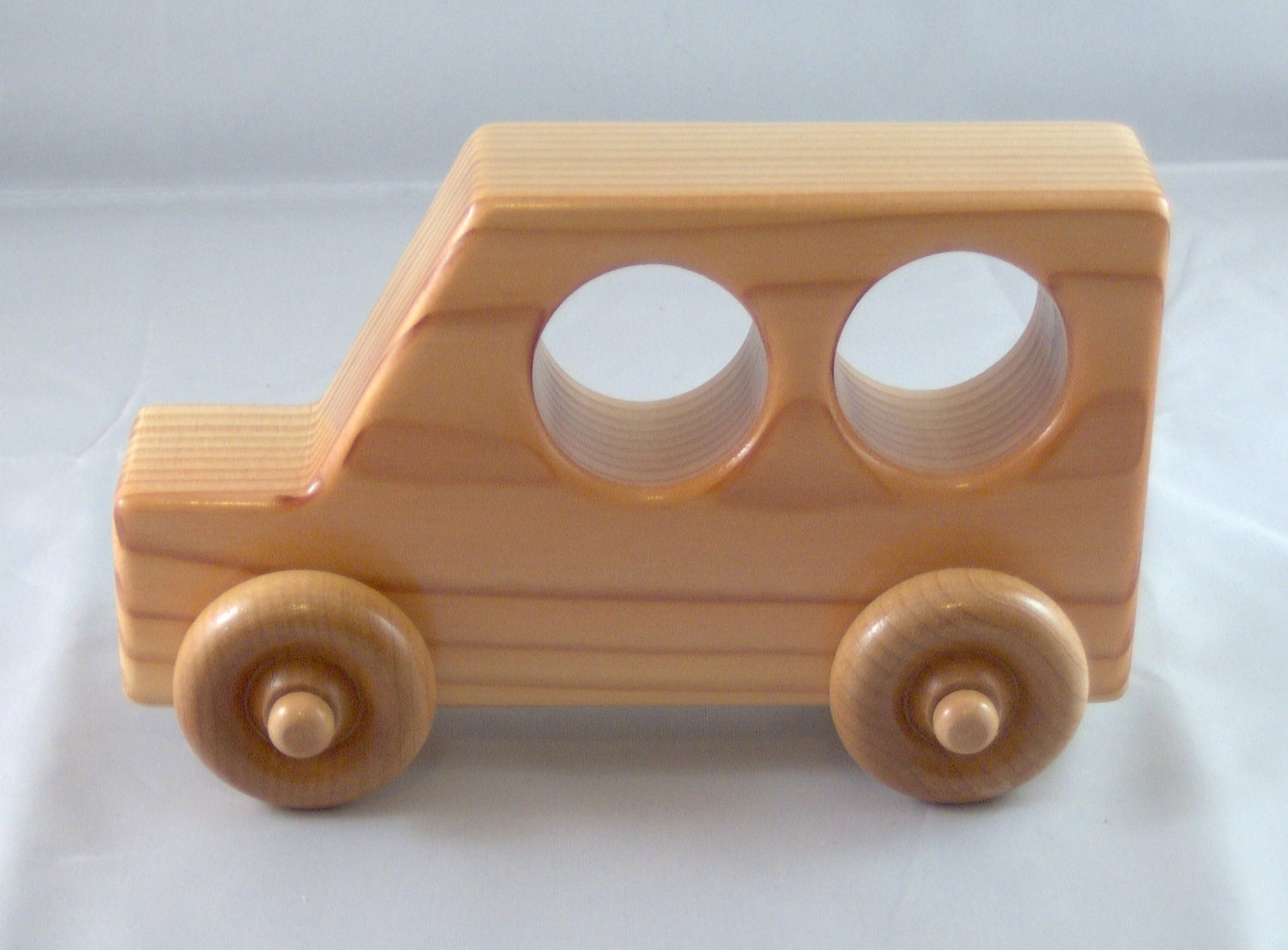 Superbly Simple Wooden Toy Car