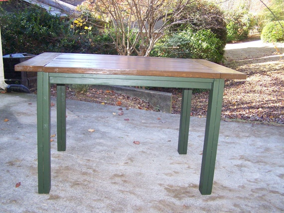 Items Similar To Farmhouse Table Kitchen Island Bar Height
