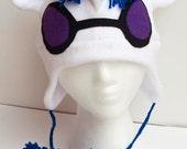 My Little Pony Deluxe DJ PON-3 unicorn hat with cutie mark