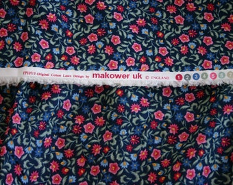Beautiful Makower Cotton Lawn  - Great for smocking - 1 1/2 yds
