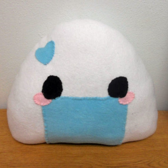 Candy Onigiri Plush - Blue