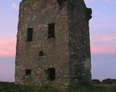 Old Head Castle - Ireland Metallic Photograph