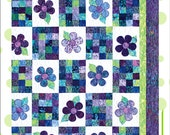Crazy Daizy Quilt Pattern by Cool Cat Creations Lap to Queen sizes