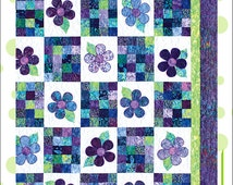 Crazy Daizy Quilt Pattern,