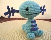 Amigurumi Crochet Wooper