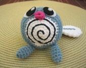 Crochet Amigurumi Poliwag Pokemon