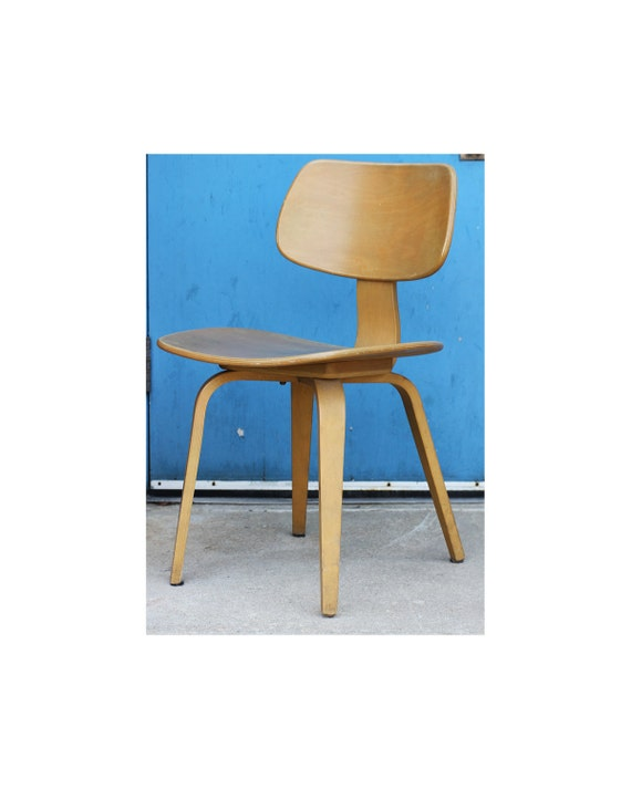 Thonet Molded Plywood Chair - Mid Century Modern