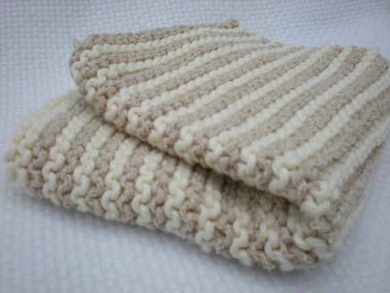 Natural Washcloth - 100% cotton